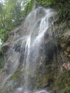 Die Wasserfälle in Bad Urach sind wahres Highlight im Maisental