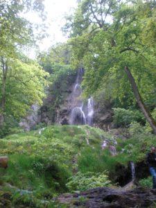 Zu jeder Jahreszeit interessant: die Wasserfälle in Bad Urach