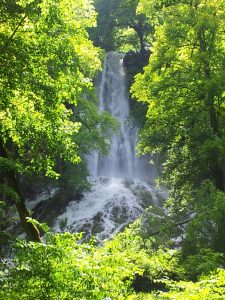 Die Wasserfälle Bad Urach landen nicht nur zum Wandern, sondern auch zum Duschen ein