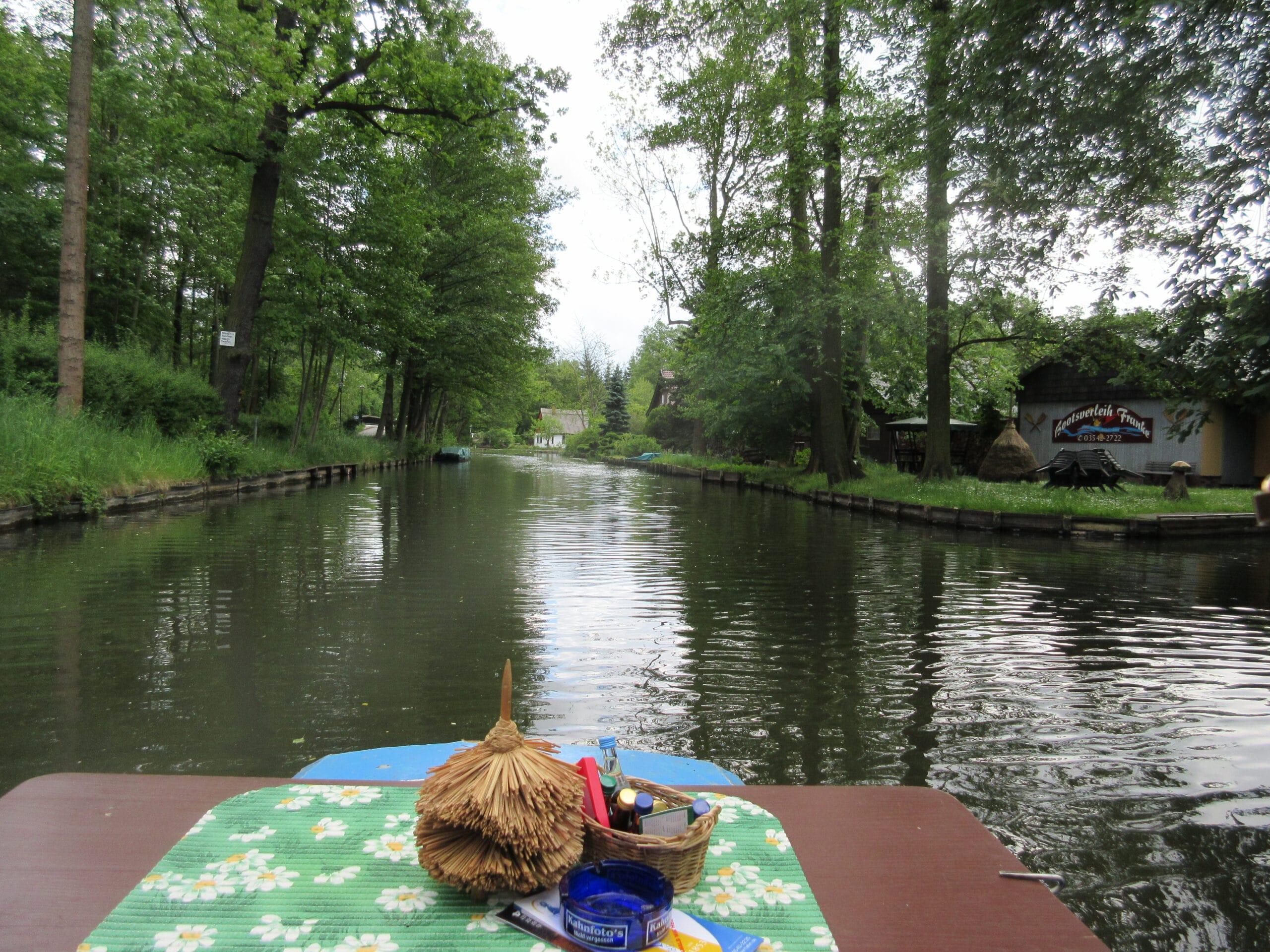 Wandern im Spreewald: die obligatorische Bootstour inklusive!