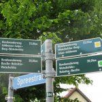 Unzählige Wanderwege laden im Spreewald zum Wandern ein