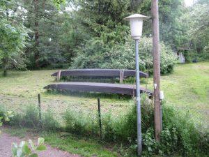 Ein Original Spreewaldkahn: immer wieder bekommen wir sie zu sehen!