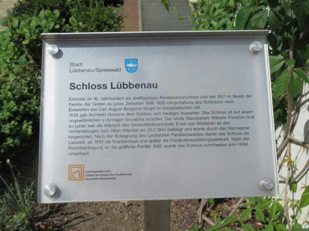 Das Schloss Lübbenau blickt auf eine lange Geschichte zurück