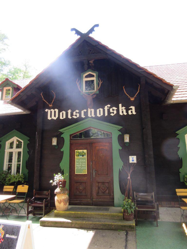 Eine tolle Einkehrmöglichkeit beim Wandern im Spreewald ist die Wotschofska!