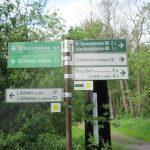Das Wegenetz zum Wandern im Spreewald ist 1a ausgebaut!
