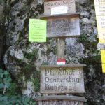 Es mangelt wahrhaftig nicht an Unterkünften auf Wanderungen im Kaiserbachtal bei Kufstein