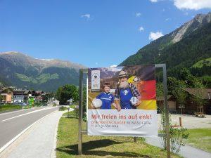 Weltmeisterliche Vorbereitung der deutschen Fußball Nationalmannschaft 2014 im Passeiertal in St. Leonhard!
