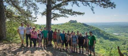 Unsere Wandergruppe in Baden Württemberg wird immer grösser!
