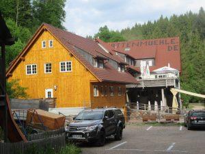 Die Schattenmühle bietet eine ideal gelegene Übernachtungsmöglichkeit beim Wandern in der Wutachschlucht