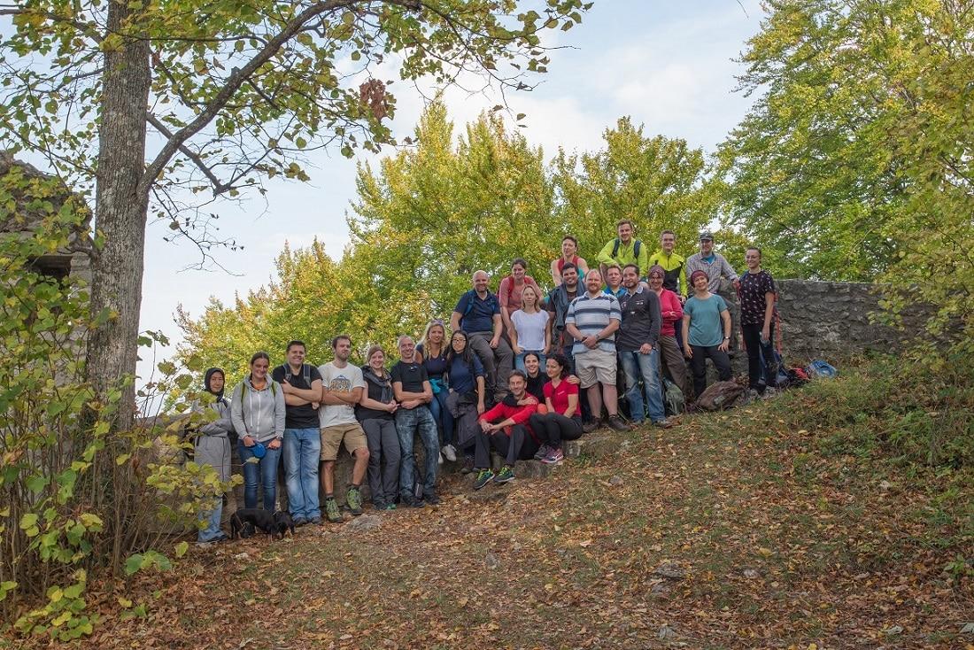 Mit 25 Personen war die jungwandern.de Wandergruppe unterwegs, um auf die Burg Teck zu wandern!