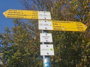 Und es geht weiter zum Ausgangspunkt unserer Tour nach Bissingen!