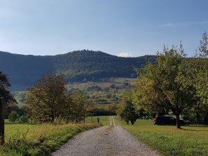 Die Wanderung um Burg Teck kam bei den Teilnehmern sehr gut an