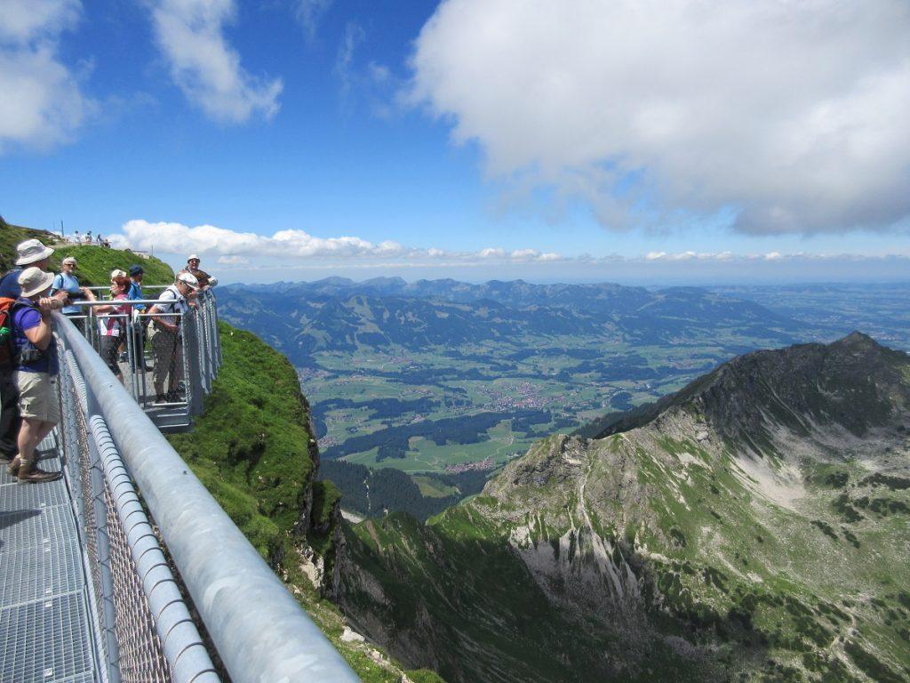 Ganz andere Aussichten habt ihr wiederum auf dem Nebelhorn! Schaut es euch doch mal an!