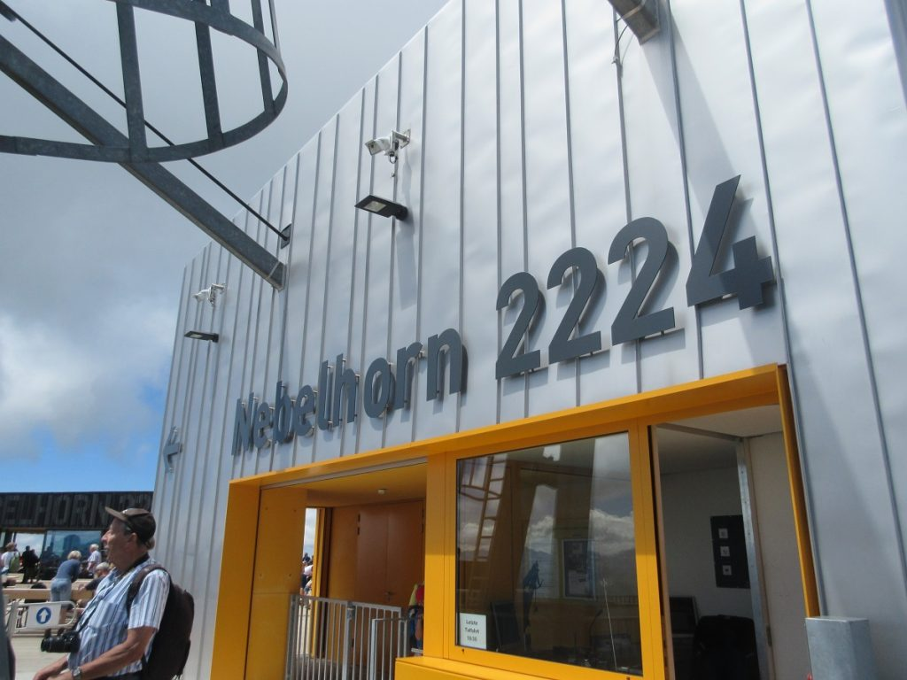 Nagelneu und nach dem Aufstieg genau das richtige: das neue Nebelhorner Gipfelrestaurant!