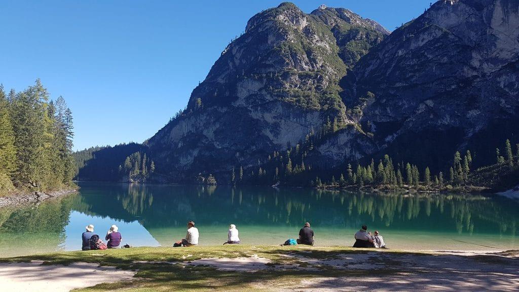 Bergsee Wandern Pause