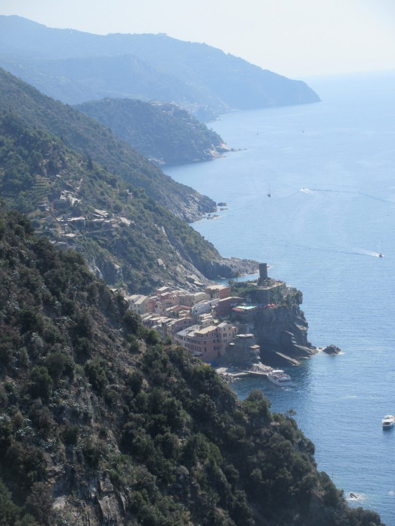 Tolle Ausblicke immer wieder bei der Wanderung an der ligurischen Küste!