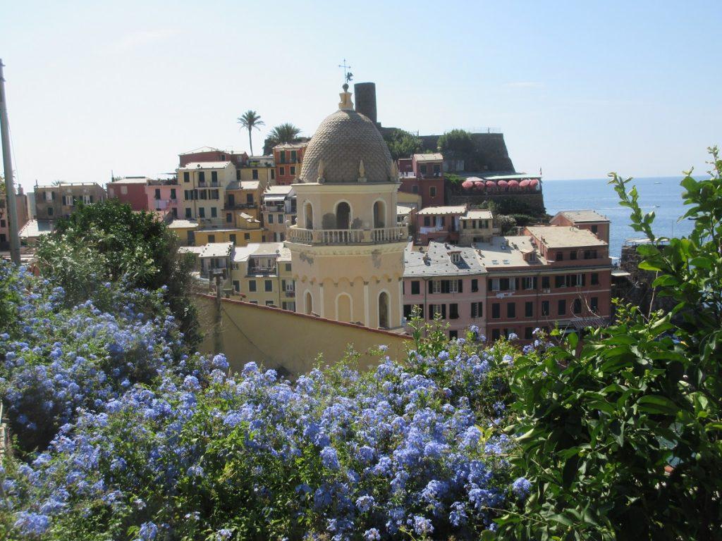 Blick auf Vernazza in der Cinque Terre