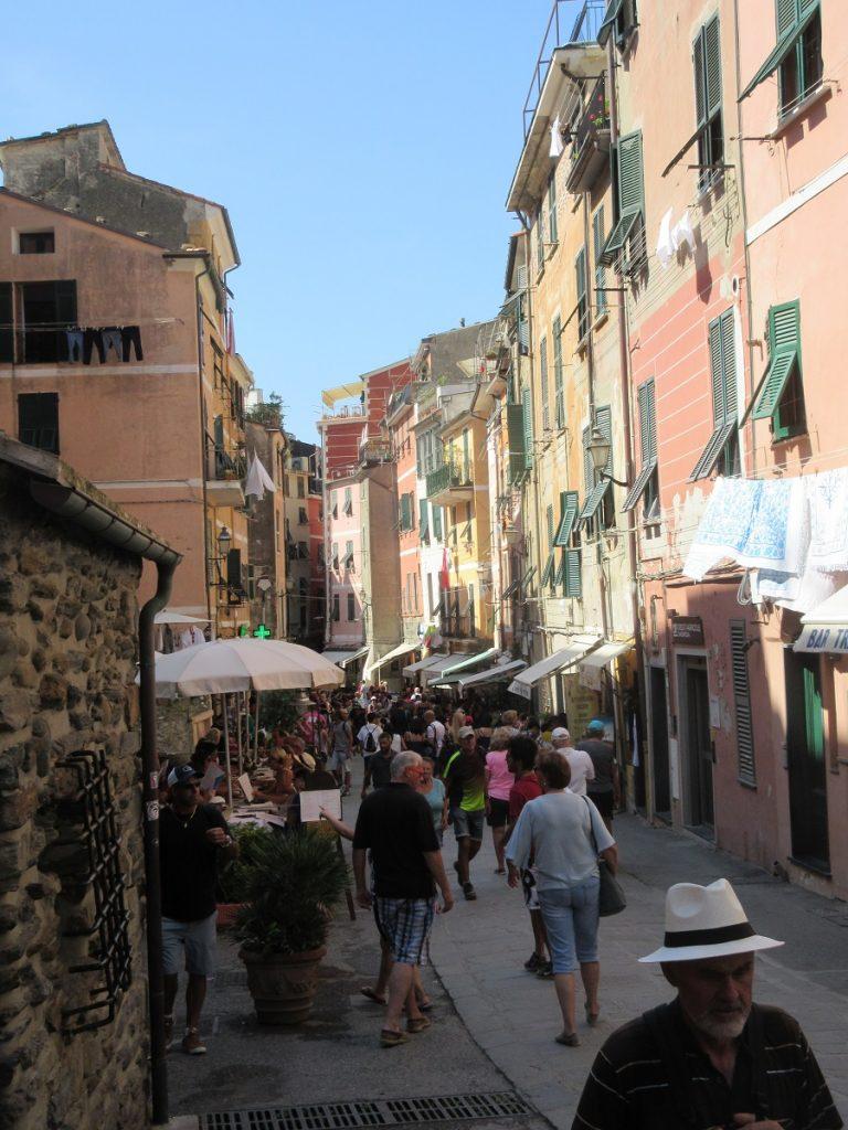 Wer durch die Cinque Terre wandern geht, benötigt auch mal eine Auszeit!