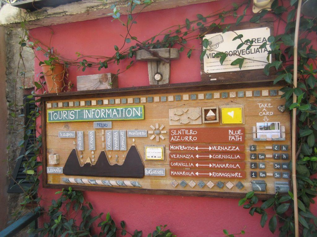 Verlaufen in der Cinque Terre ist fast unmöglich!