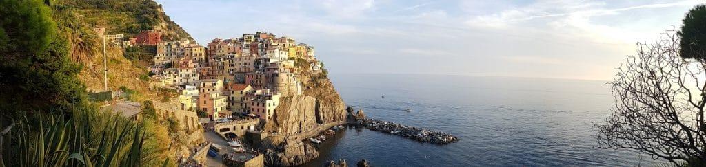 Fantastische Aussichten beim Wandern in der Cinque Terre an der Küste Liguriens!