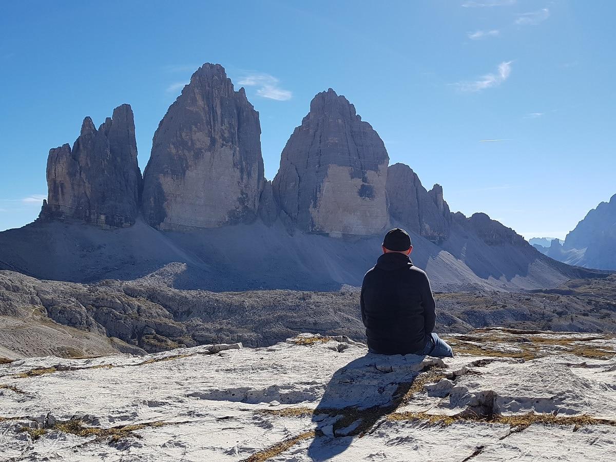 Am Weltkulturerbe auf 2.500m Höhe wandern: die Drei Zinnen in den Dolomiten!