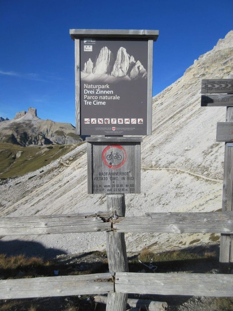 """Ein absolutes """"must-see"""": der Naturpark Drei Zinnen!"""