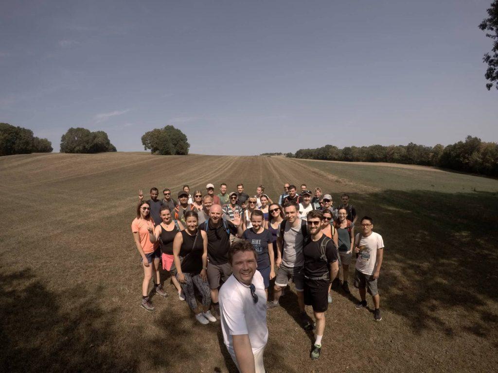 Mittlerweile kommen bis zu 35 Teilnehmer zu unseren kostenlosen Gruppenwanderungen! Wann folgt ihr uns?