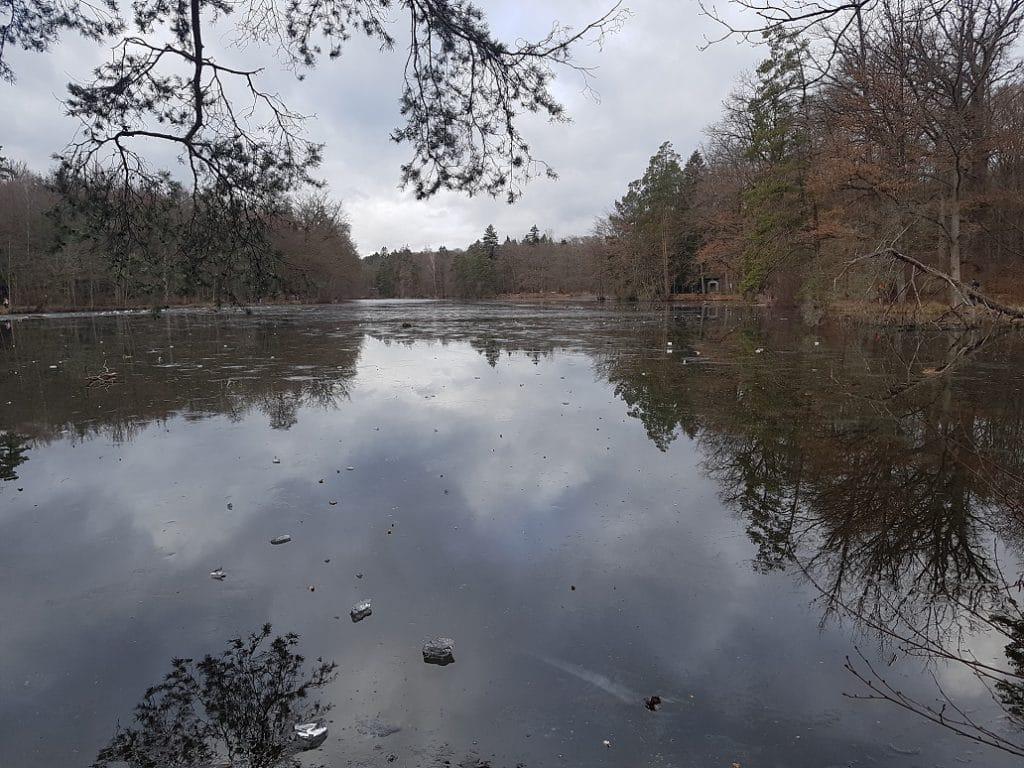 Bietet sich an, geht man um die Heslacher Wasserfälle wandern: der Pfaffensee gleich um die Ecke!