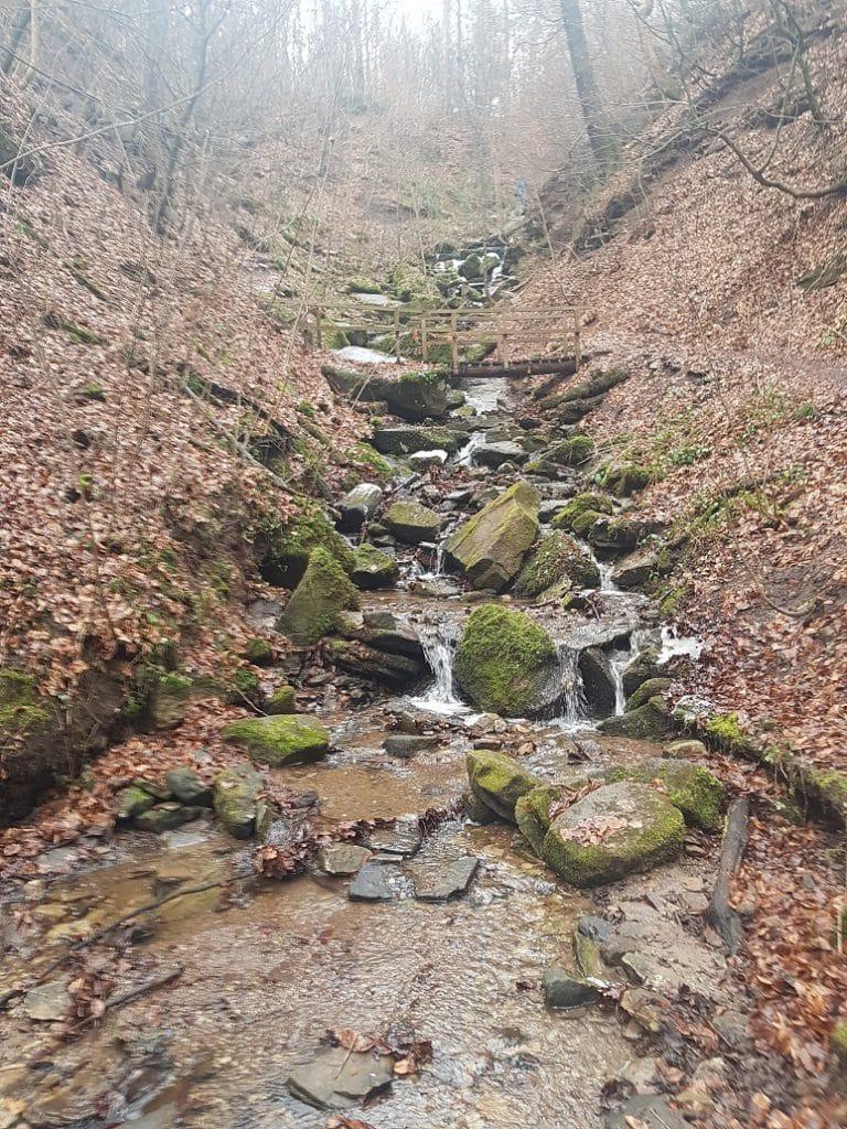 Im Süden von Stuttgart laden die Heslacher Wasserfälle zum wandern ein!
