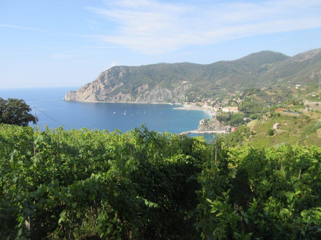 Von Monterosso wandern wir zuerst nach Vernazza!