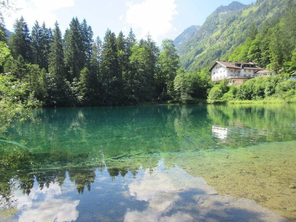 Da lohnt sich doch die Wanderung nach Spielmannsau: ein Traum von einem Bergsee, der Christlessee!