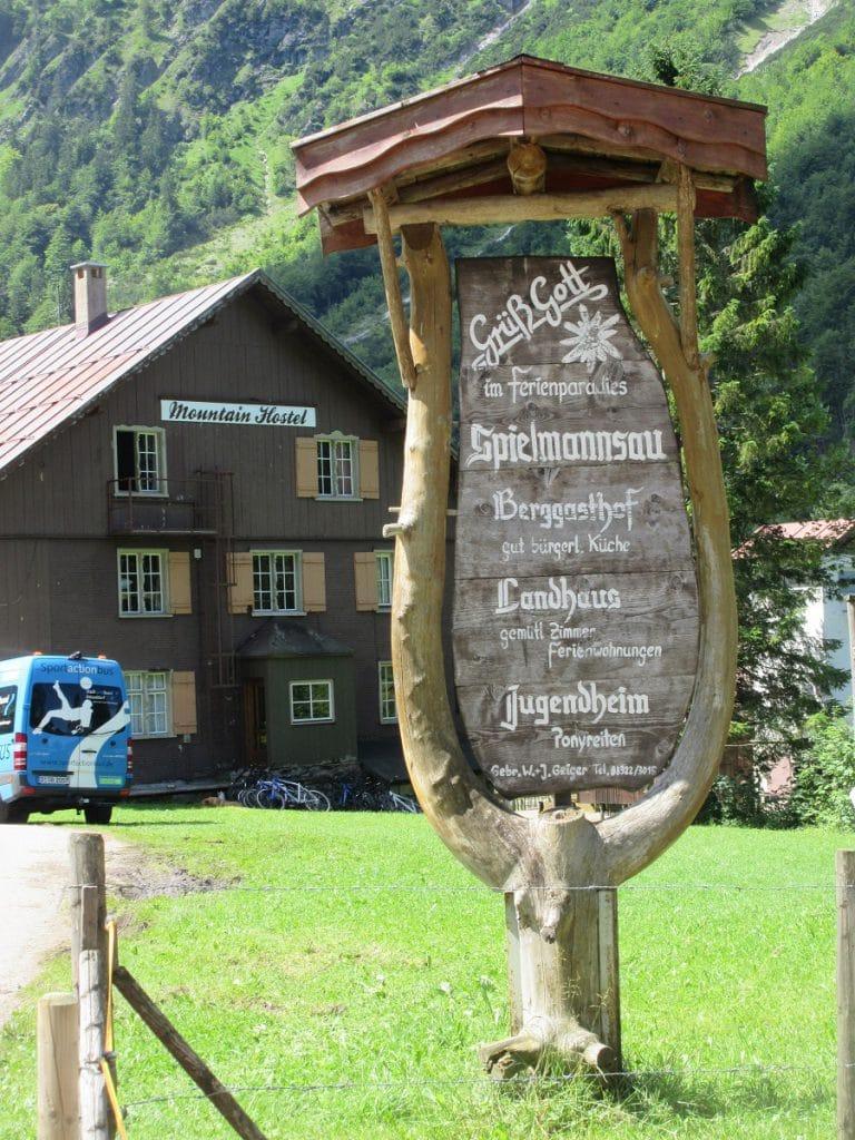 Eine tolle Einkehrmöglichkeit auf dem E5 Fernwanderweg von Oberstdorf nach Spielmannsau!