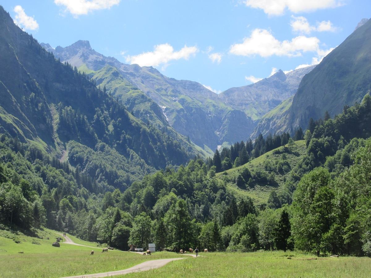 Über diesen link gelangt ihr direkt auf den Fernwanderweg E5 von Oberstdorf nach Spielmannsau!
