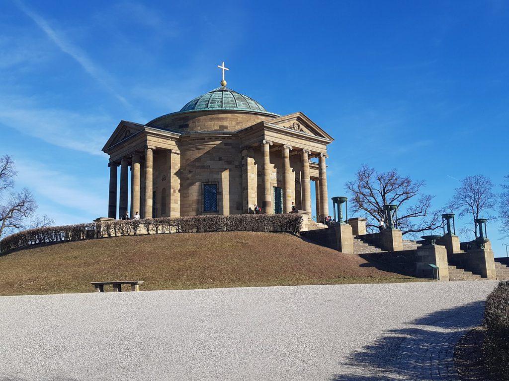 Bei tollem Wetter immer einen kleinen Ausflug von Stuttgart aus wert: die Grabkapelle auf dem Württemberg!