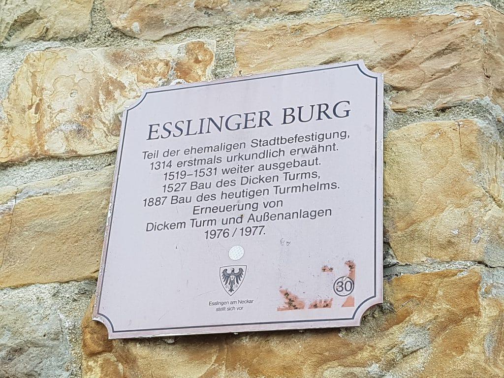 Am Ziel angekommen: wir waren fast zwei Stunden von Untertürkheim bis zur Burg Esslingen wandern!