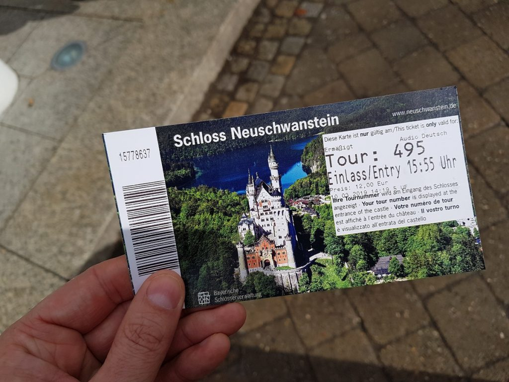 Wer in Füssen wandern geht, kommt an einem Besuch vom Schloss Neuschwanstein nicht drum rum!