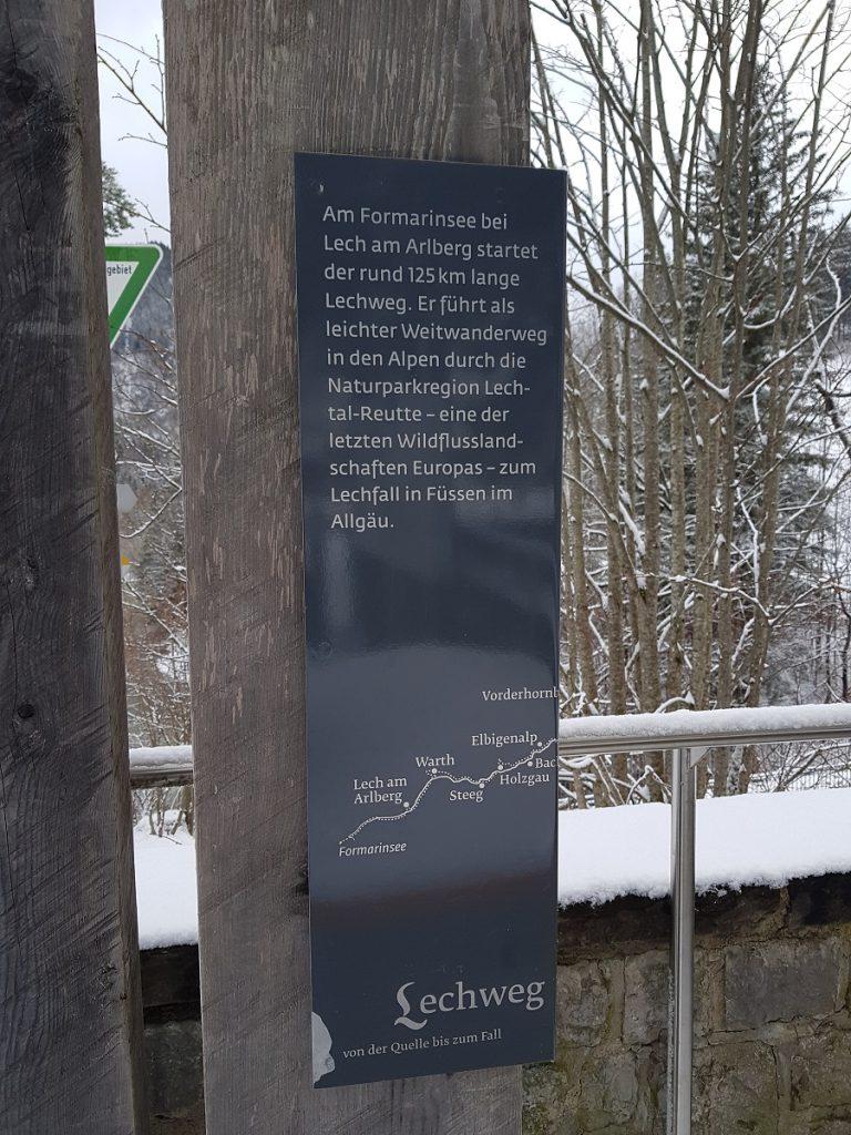 Endziel: ca. 125km bis nach Füssen wandern und das Ziel vom Lechweg erreichen!