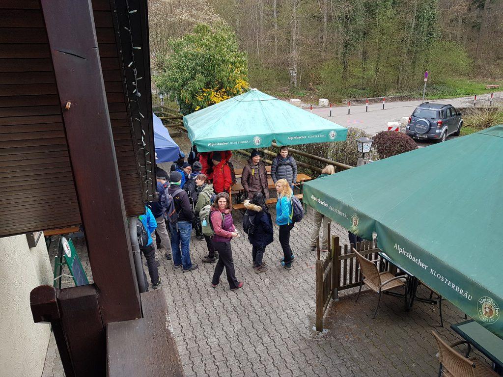 Sieht unscheinbar aus, ist aber eine empfehlenswerte Einkehrmöglichkeit beim Wandern im Siebenmühlental: die Schlösslesmühle!