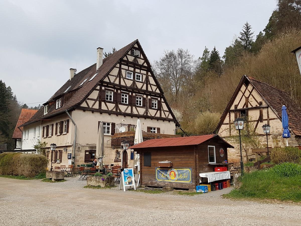 Sieben Mühlen befinden sich im Tag, daher Siebenmühlental!