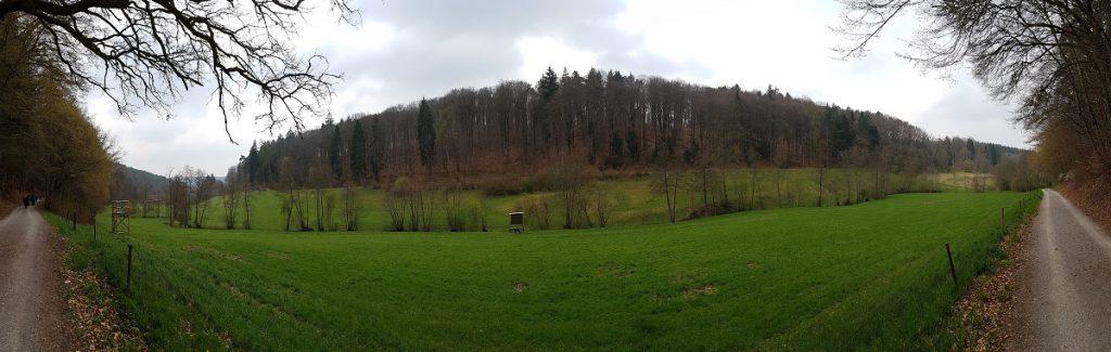 Ein Siebenmühlental Panorama-Bild, beim Wandern aufgenommen!