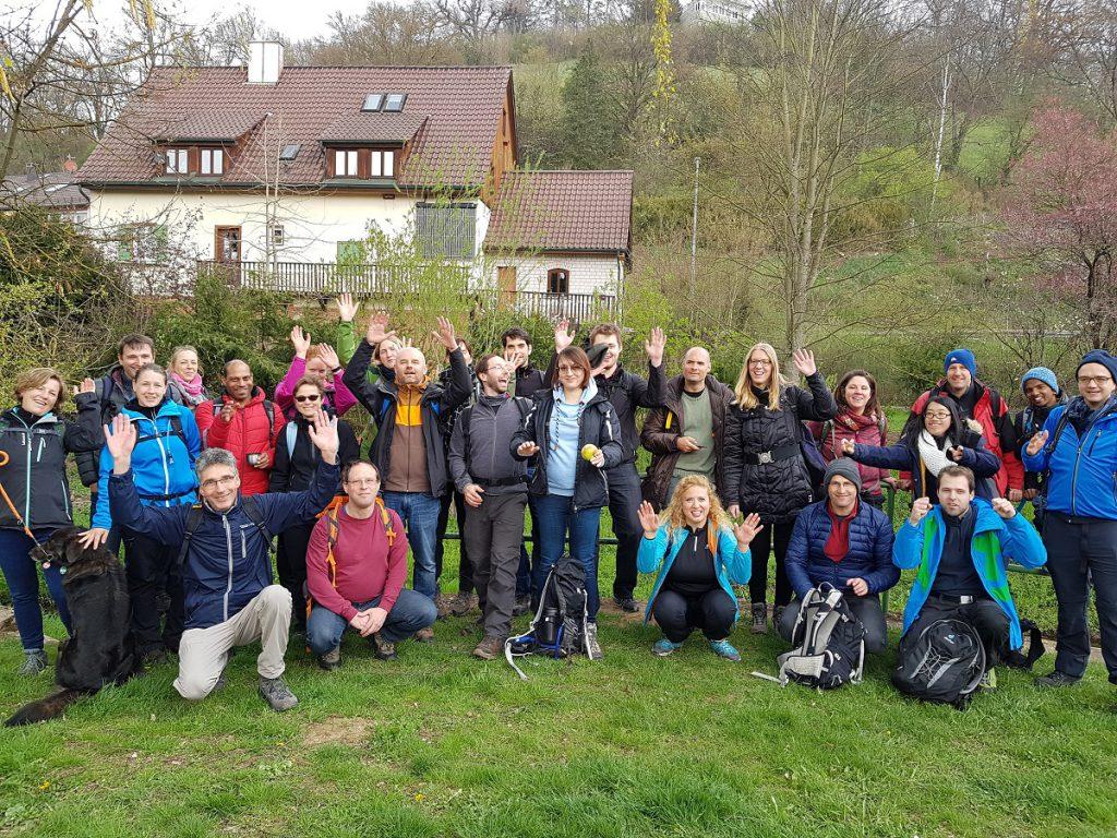 Mit knapp 30 Teilnehmern ist die jungwandern.de Wandergruppe diesmal durch das Siebenmühlental wandern gewesen!