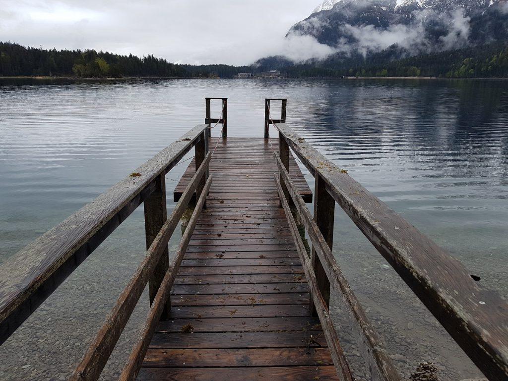 Bergsee Steg