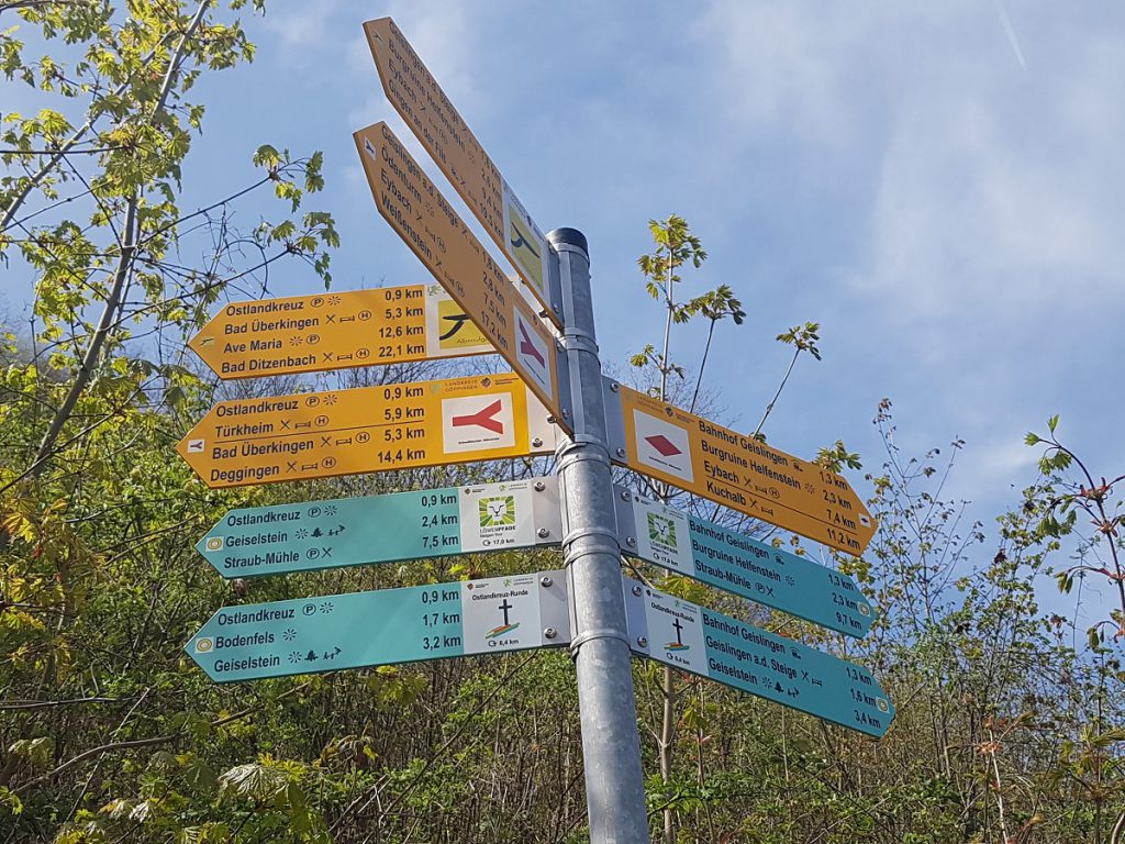 Es mangelt wahrhaftig nicht an Wander-Auswahlmöglichkeiten hier in Geislingen!