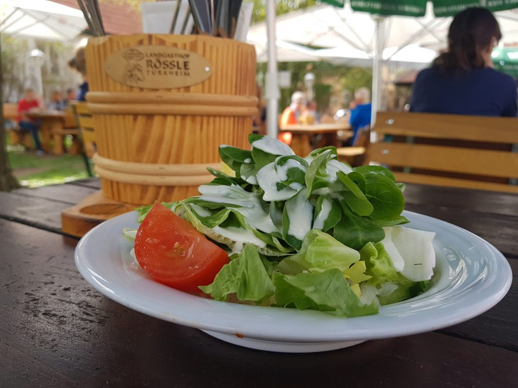 Auch gesundes Essen ist uns natürlich extrem wichtig!