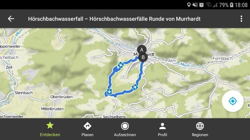 Hörschbachschlucht Wandern