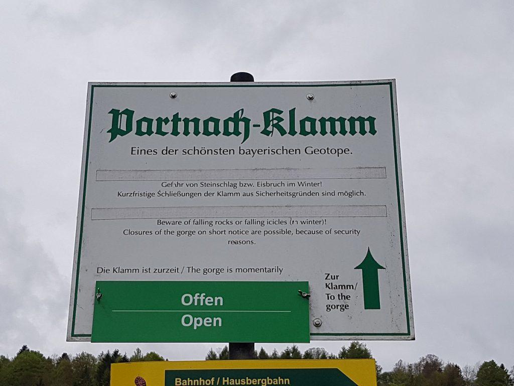 Durch die Partnachklamm wandern: eines der schönsten bayerischen Geotope!