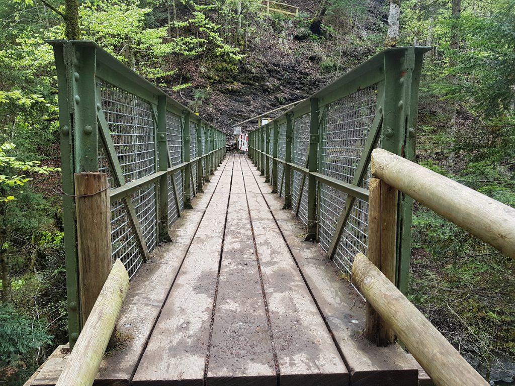Das ist sie: die Eiserne Brücke in Garmisch-Partenkirchen!