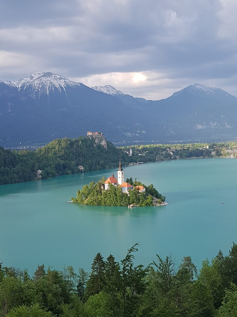Bled See Insel Berge