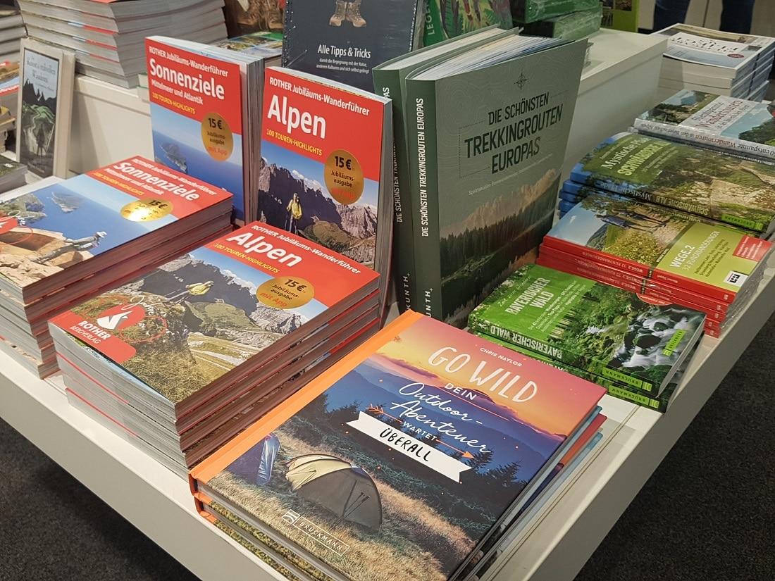 Bücher zum Thema Wandern, Outdoor und Waldbaden