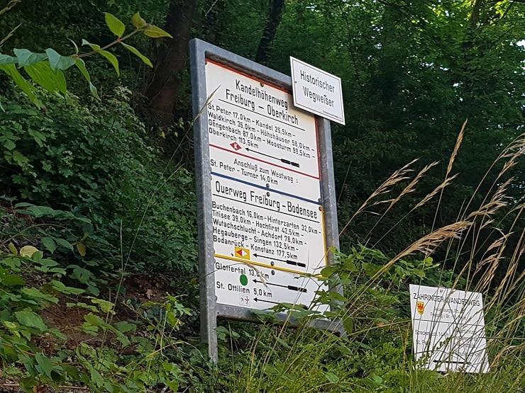 Startpunkt vom Schwarzwald-Querweg